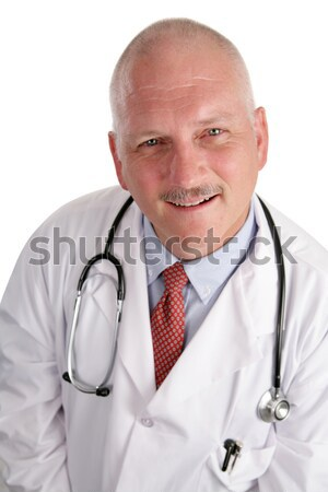 Photo of Friendly Mature Doctor Stock photo © lisafx