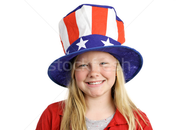 All American Girl Stock photo © lisafx