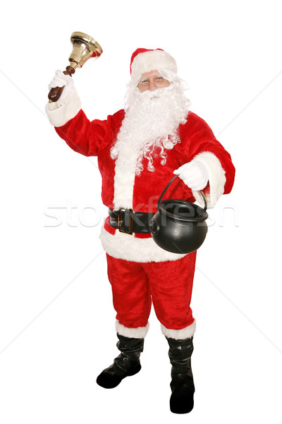 Santa Charity Collection Stock photo © lisafx