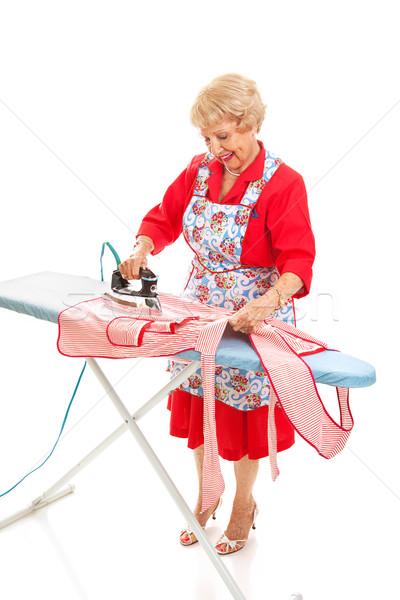 Ironing Full Body Stock photo © lisafx