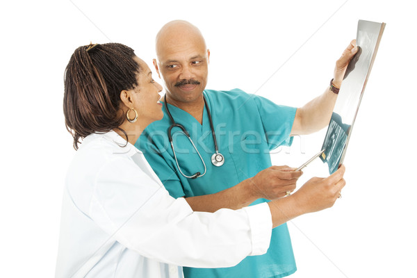Doctors Review X-ray Results Stock photo © lisafx