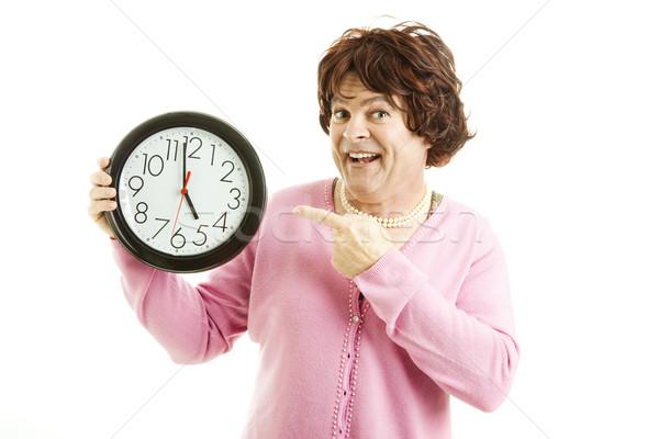 Transvestite - Five O-Clock Stock photo © lisafx