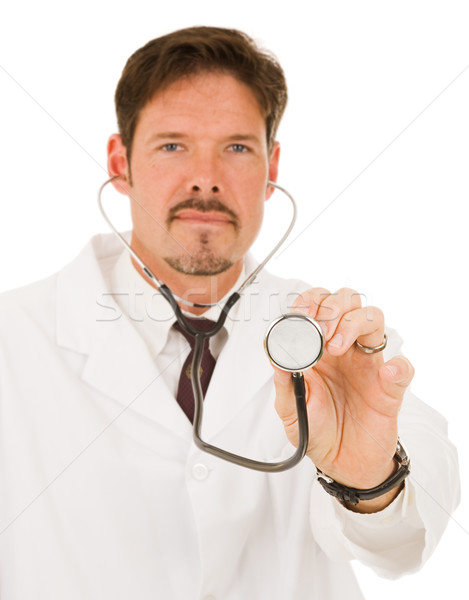 Doctor with Stethoscope Stock photo © lisafx