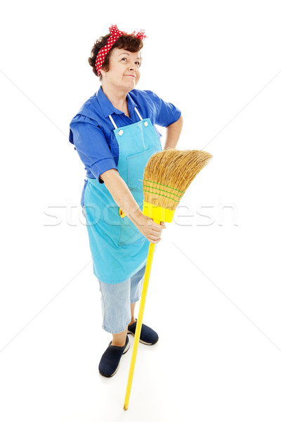 Housekeeper's Imagination Stock photo © lisafx