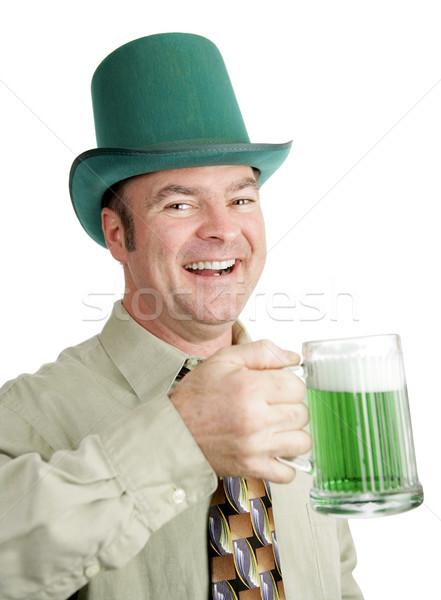 ír iszik dal férfi örökség élvezi Stock fotó © lisafx