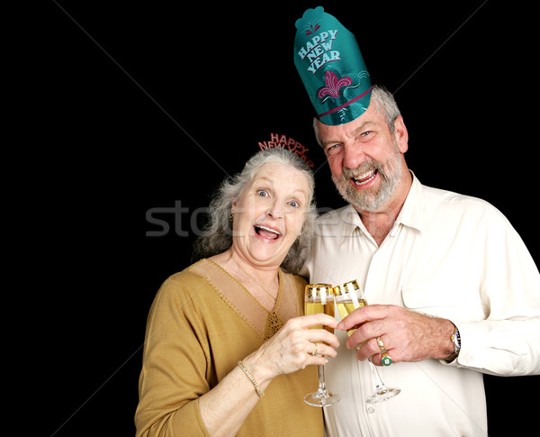 New Years Party Couple Stock photo © lisafx