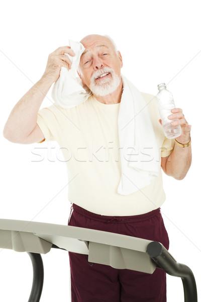 Senior Workout - Cool Down Stock photo © lisafx