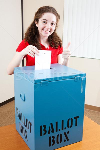かなり 代 投票 18歳 ヒスパニック アメリカン ストックフォト © lisafx