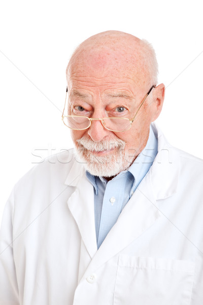 Wise Pharmacist Doctor or Scientist Stock photo © lisafx