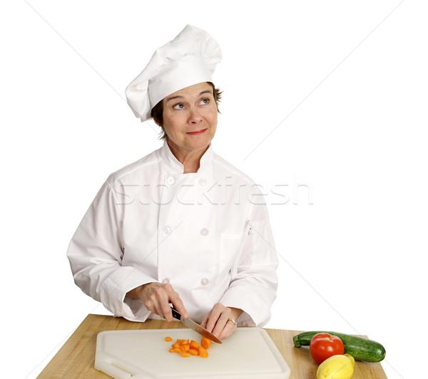 Chef Series - Imagination Stock photo © lisafx
