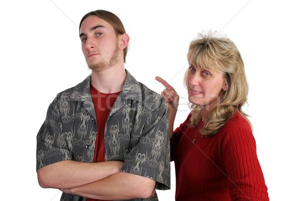 Defiant Teen Angry Mom Stock photo © lisafx