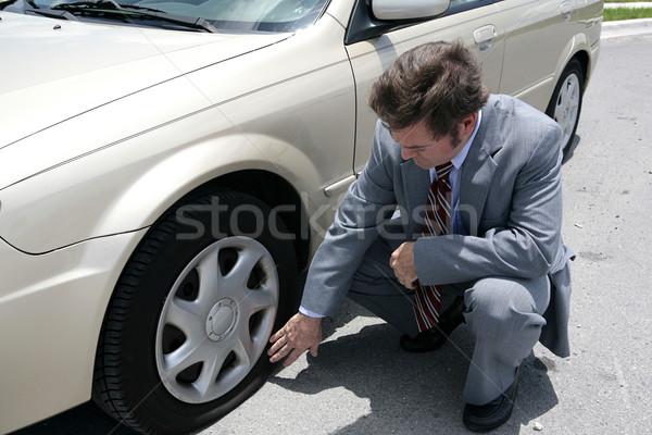 Flat Tire Stock photo © lisafx