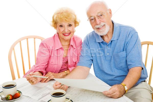 Stock photo: Voting - Seniors & Absentee Ballots