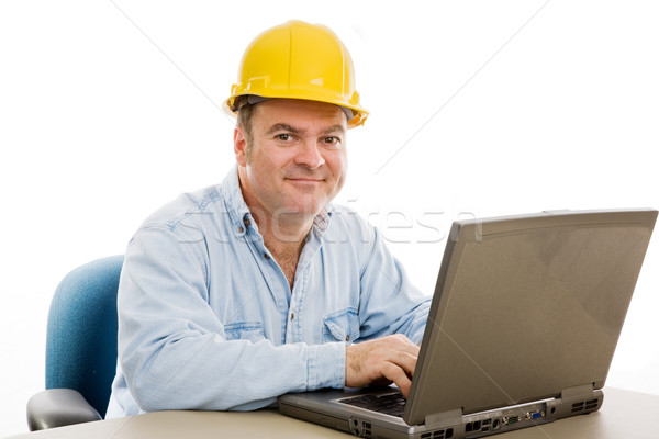 Contractor in Office Stock photo © lisafx