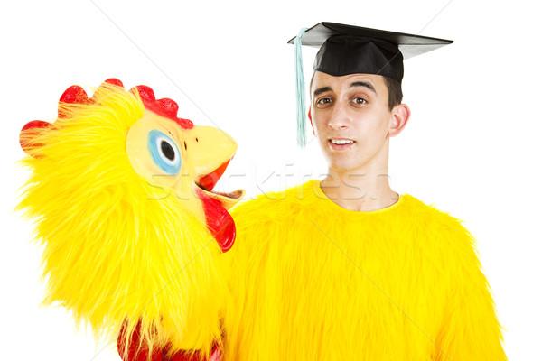 Trabalho pós-graduação escola secundária faculdade baixo Foto stock © lisafx
