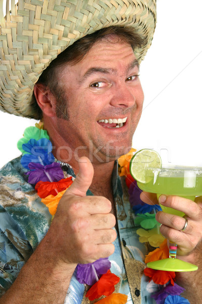 Margarita Man Thumbs Up 1 Stock photo © lisafx