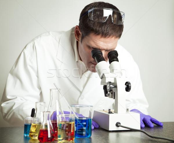 Scientist Working in Laboratory Stock photo © lisafx