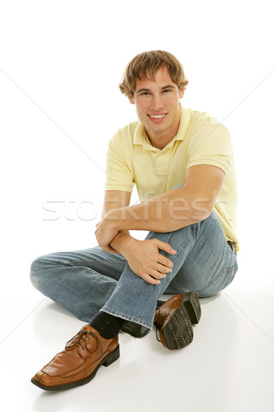 Casual Young Male Stock photo © lisafx