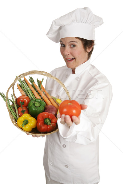 Chef Series - Tomato For You Stock photo © lisafx