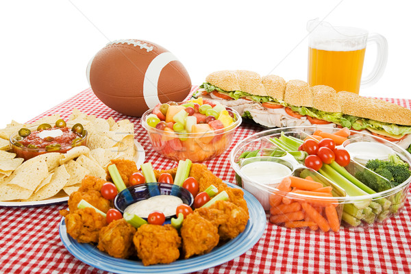 Football Feast Stock photo © lisafx