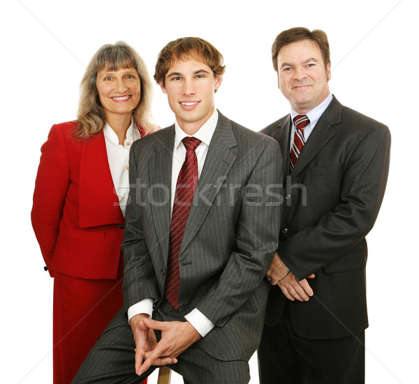 Friendly Business People Stock photo © lisafx