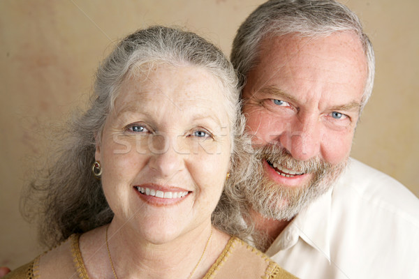 Gorgeous Mature Couple Stock photo © lisafx