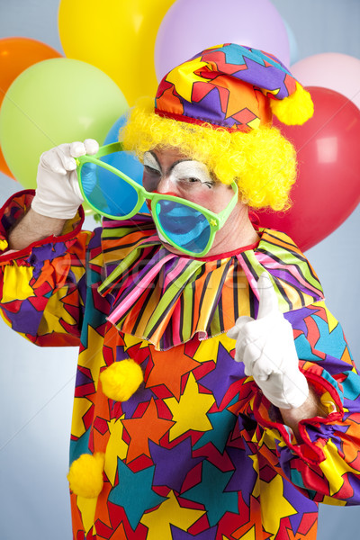 Hip Hop Clown Stock photo © lisafx