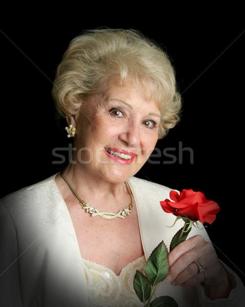 エレガントな 成功した シニア 女性 美しい ストックフォト © lisafx