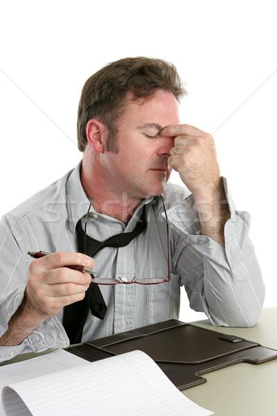 Headache at Work Stock photo © lisafx