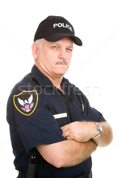 Police Officer - Suspicious Stock photo © lisafx