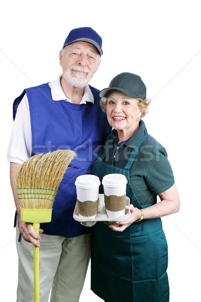 Seniors Back at Work Stock photo © lisafx