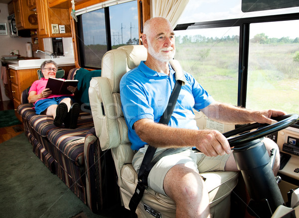 Travel by Motor Home Stock photo © lisafx