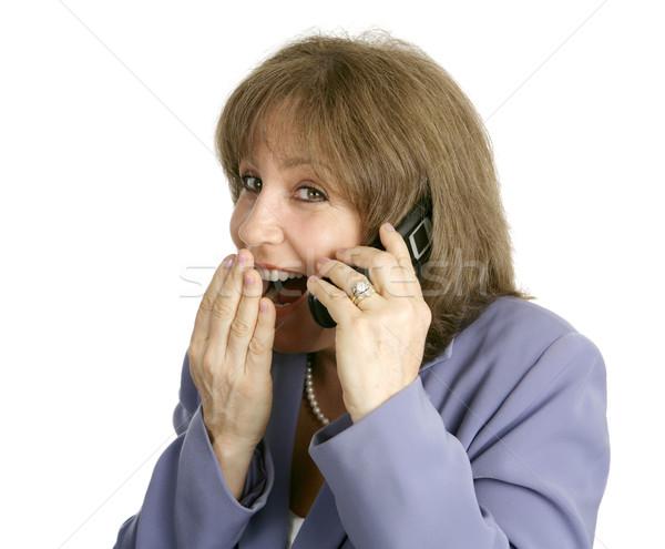 Businesswoman - Juicy Gossip Stock photo © lisafx