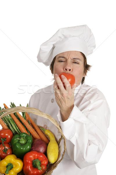 Chef Series - Sweet Tomato Stock photo © lisafx