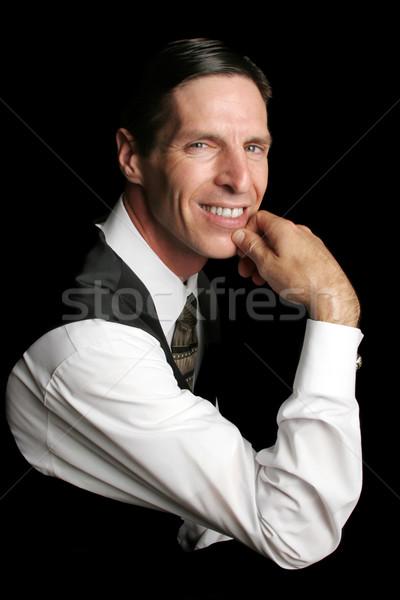 Executive Portrait - confident Stock photo © lisafx