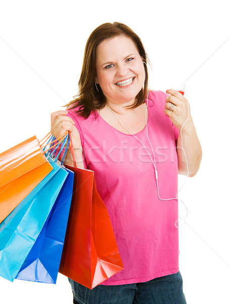 Shopping with Music Stock photo © lisafx