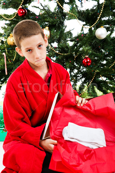 Disappointing Christmas Gift Stock photo © lisafx