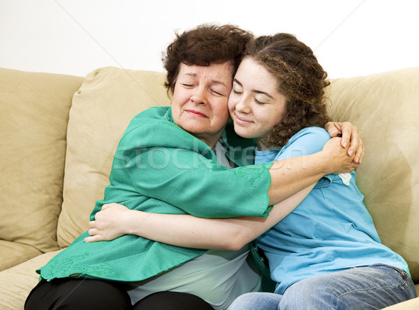 Mother Daughter Love Stock photo © lisafx