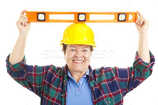 Female Worker - Level Headed Stock photo © lisafx