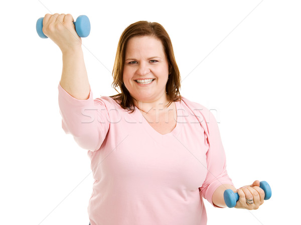 Workout Routine Stock photo © lisafx