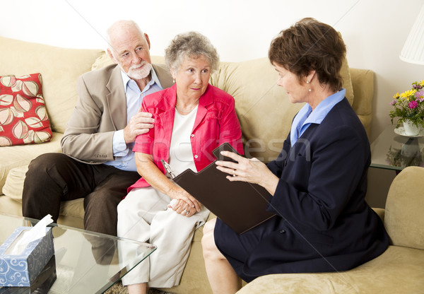 Marriage Counseling Stock photo © lisafx