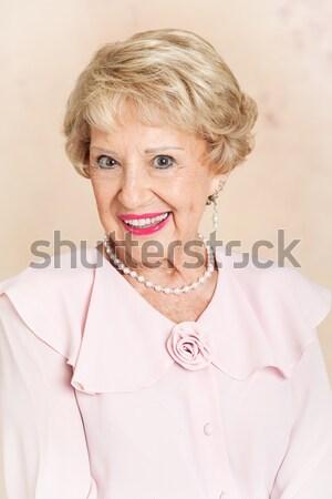 Beautiful Senior Woman Stock photo © lisafx