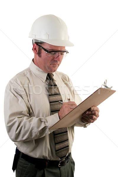 Construction Inspector 4 Stock photo © lisafx