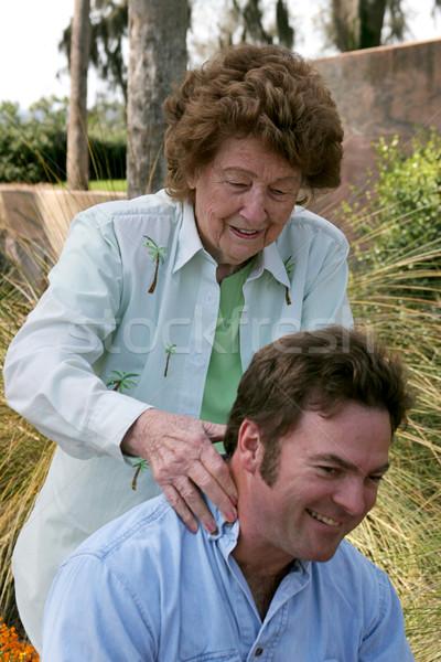 Massage From Mom Stock photo © lisafx