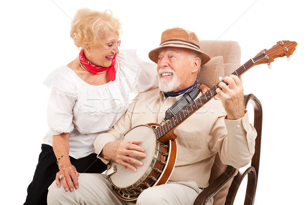 Old Fashioned Courting Stock photo © lisafx