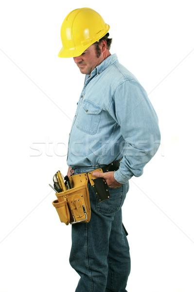 Tool Man Looks Down Stock photo © lisafx