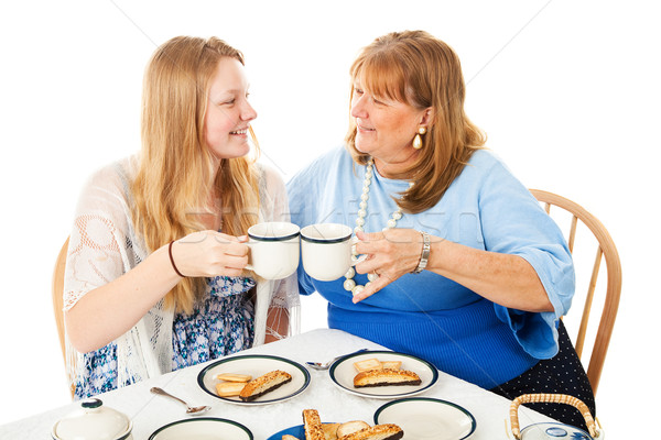 Tea Party For Mothers Day Stock photo © lisafx