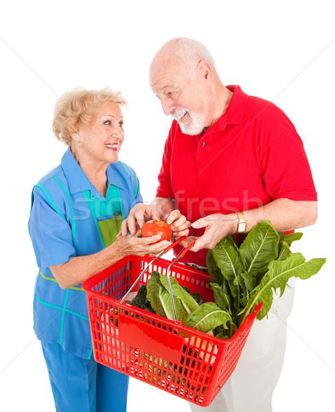 Food Shopping Fun Stock photo © lisafx