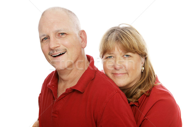 Happy Mature Couple Stock photo © lisafx