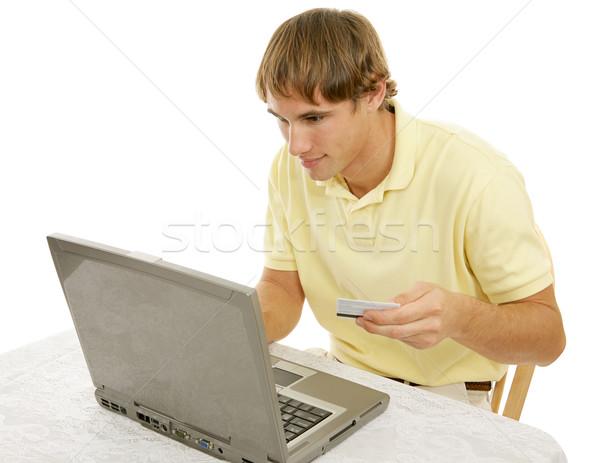 Internet Shopping Addiction Stock photo © lisafx
